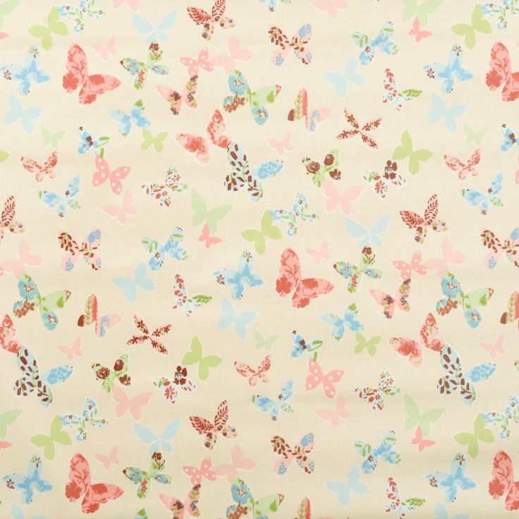 Butterfly PVC Fabric