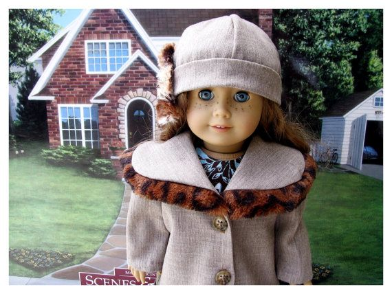 Eighteen Inch Doll Clothes Fall/Winter Faux by BonJeanCreations