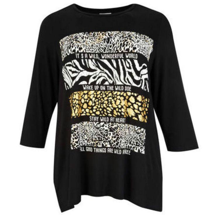 Maglia fantasia taglia forte donna dalla L alla 5XL Shirt - gemustert