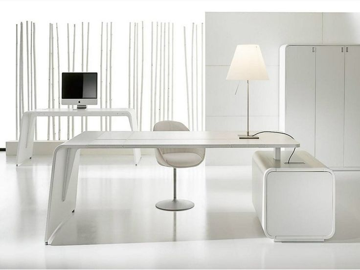 modern white executive desk modern furniture white rectangular tanned