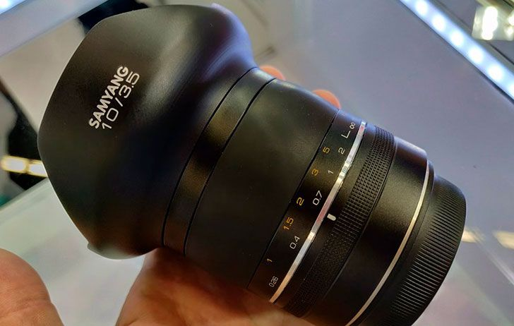 Samyang Shows Off An Xp 10mm F 3 5 The Worlds Widest Full Frame Dslr Lens Samyang Is Showing Off An Xp 10mm F 3 5 The Worlds Wide R Dslr Lens Dslr Full Frame