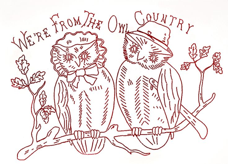 Vintage Redwork Embroidery Patterns Free Cafca Info For