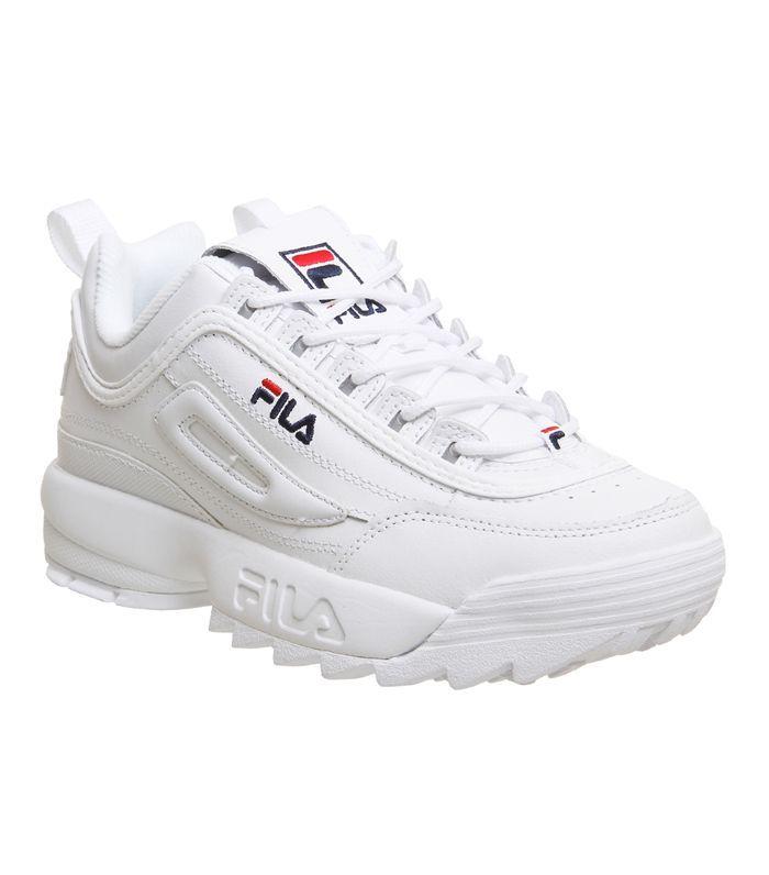 Fila Disruptor II Trainers White