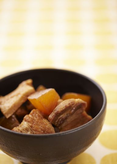 大根と豚バラの煮物 のレシピ・作り方 │ABCクッキングスタジオのレシピ   料理教室・スクールならABCクッキングスタジオ