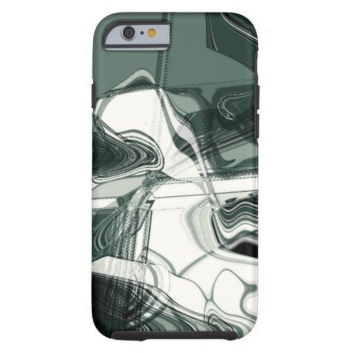 Land Formations Abstract Art / Tough iPhone 6 Case, by FOMAdesign