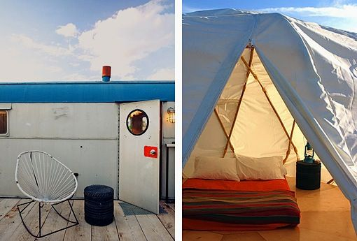 Simple Luxury - Small Hotel - El Cosmico, Marfa, Texas