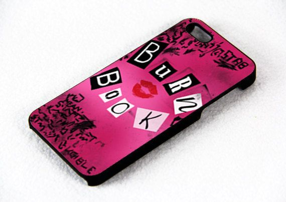 Mean Girl Burn Book  Design For iPhone 4/4s Case or by FixCenter, $15.00