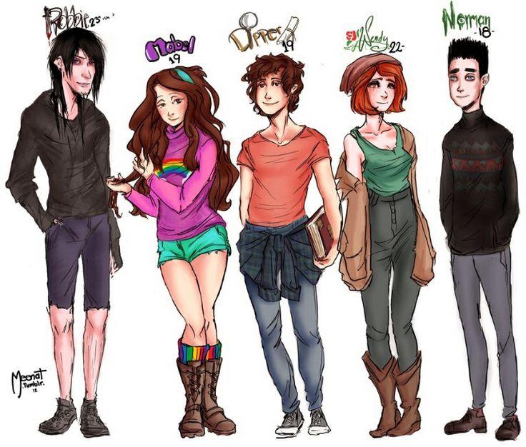 Gravity Falls cast older