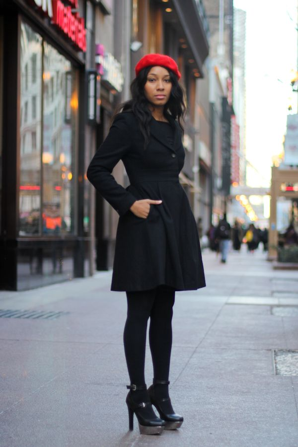 Chicago Street Style: Dyniche the Flight Attendant