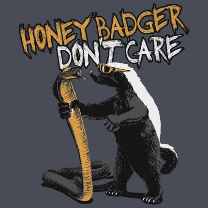 Randall's Honey Badger Don't Care Shop | Randall's Honey Badger