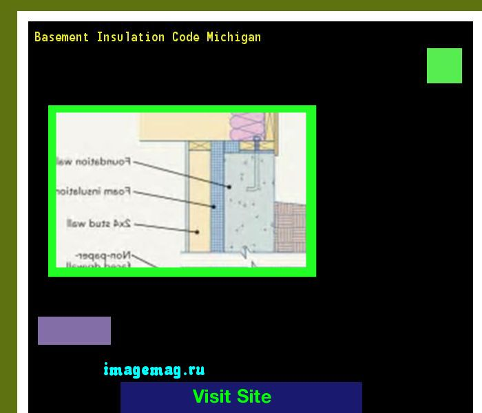 Basement Insulation Code Michigan 134839 - The Best Image Search