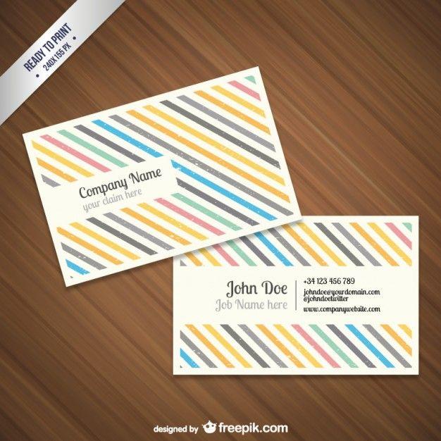 cmyk grunge business card template free vector