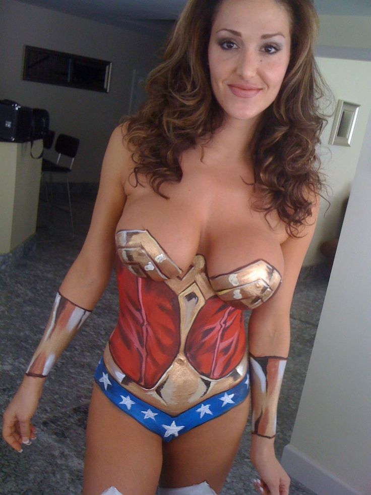 92 best wonder woman bodypaint cosplay amazons images for Best body paint pics