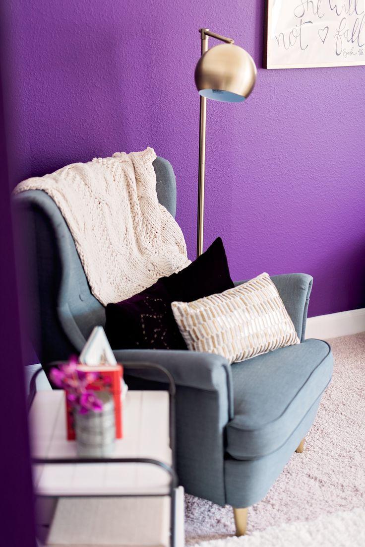 127 best purple nursery images on pinterest | project nursery