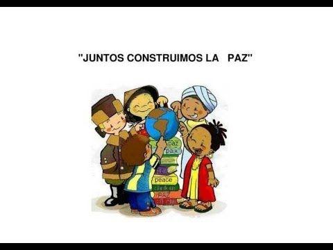 ▶ cancion Infantil HOY CANTAMOS POR LA PAZ PAZ - YouTube