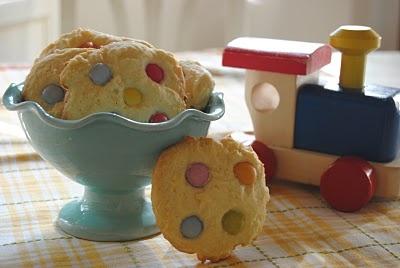 Sorelle in pentola: Cookies agli smarties