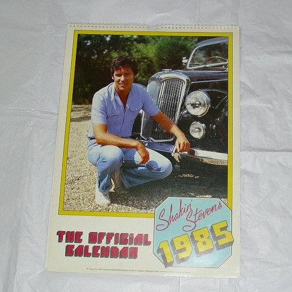 Shakin' Stevens Shaky Official 1985 Danilo Promotions