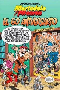 Una nueva aventura de Francisco Ibáñez dedicada al sexagésimo aniversario de sus populares personajes Mortadelo y Filemón.