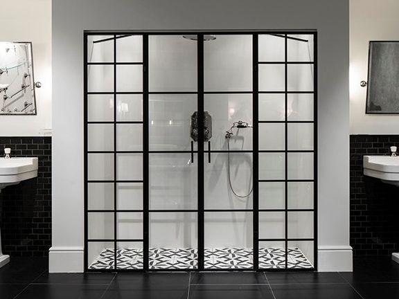 Niche Glass And Aluminium Shower Cabin Loft By Devon Devon Sdb Chambre
