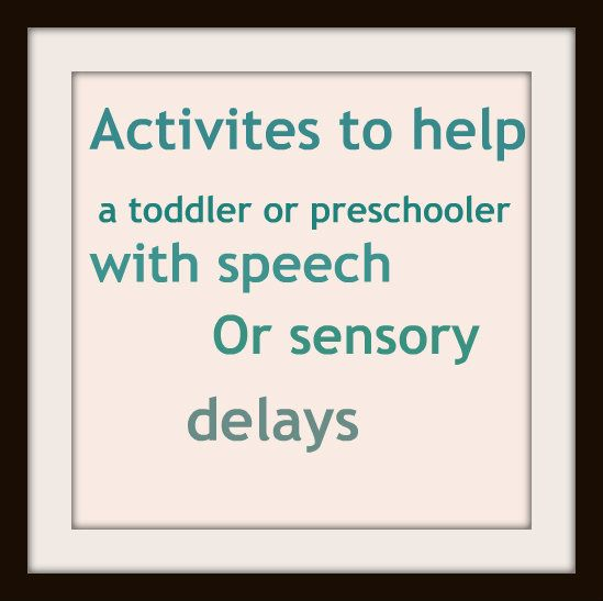 help for speech delay in toddlers