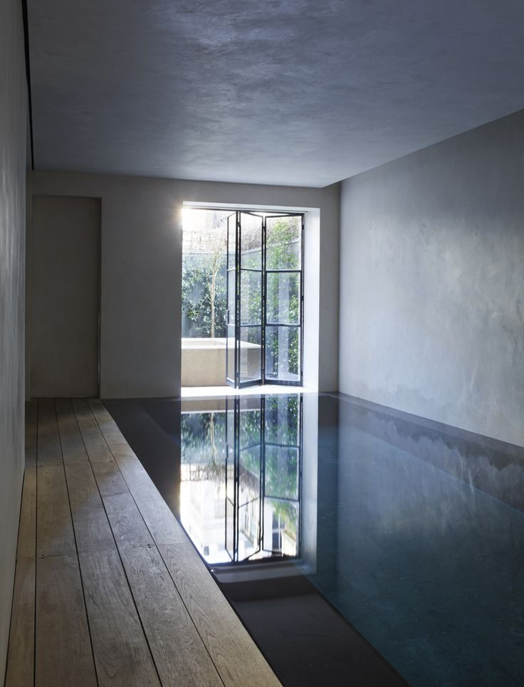 Indoor pool - Pimlico House in London by Rose Uniacke