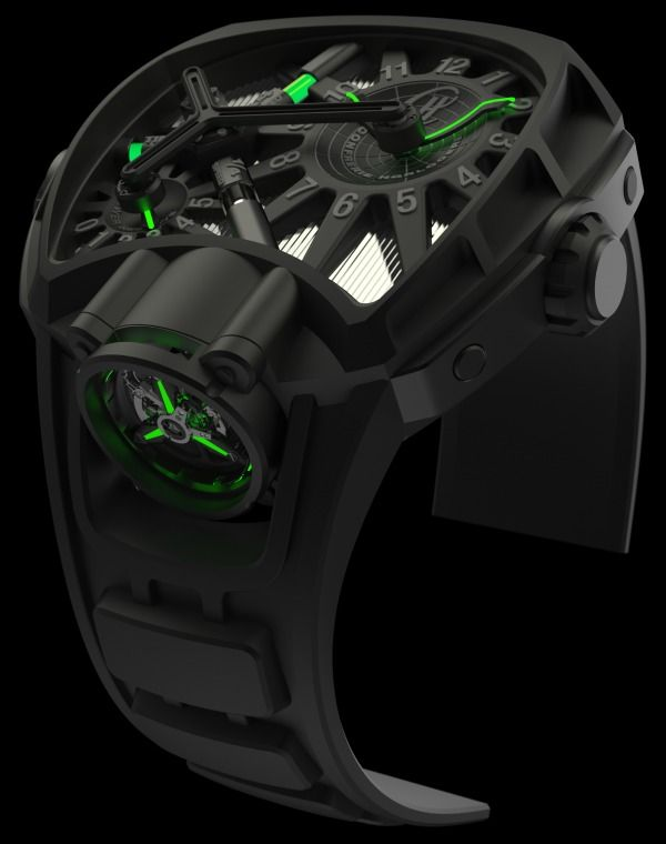 """This watch is ridiculous... @Hublot La Clef du Temps - """"The Key of Time"""""""