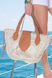 Summer Crochet Bag, perfect size for carrying everything.
