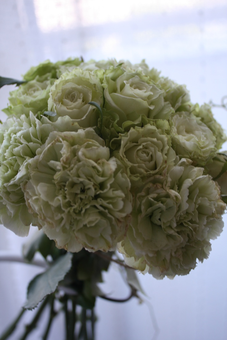 Green Color Bouquet