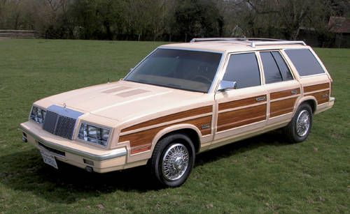 Chrysler Le Baron Town and Country Turbo Station Wagon For Sale (1985)