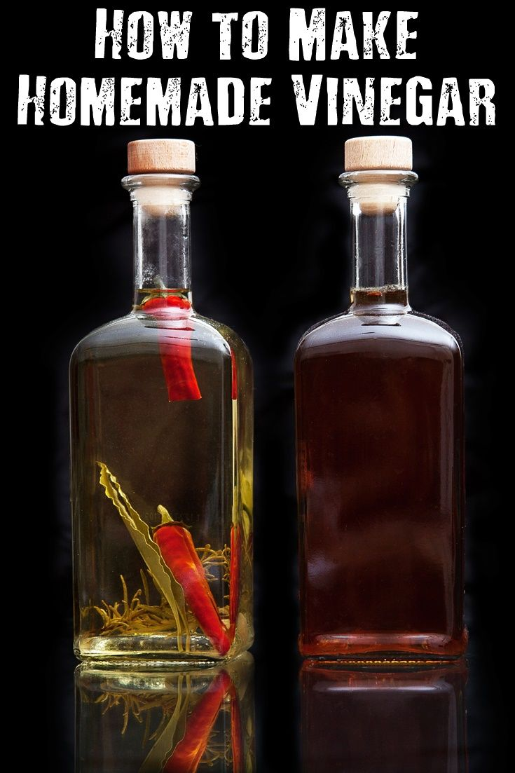 how to make homemade vinegar vinegar is one of those things that generally sits in the. Black Bedroom Furniture Sets. Home Design Ideas