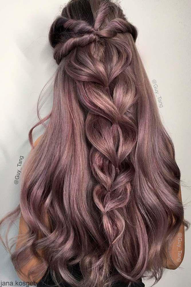 Einfache Frisur Fur Den Abschluss Dirndl Halboffen Offene Haare Flecht Easy Hairstyles For Long Hair Prom Hairstyles For Long Hair Braided Hairstyles Easy
