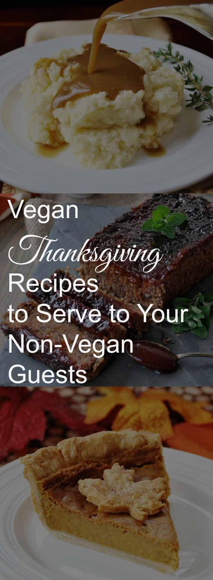 Vegan Thanksgiving recipes that your non-vegan guests will love! www.veganosity.com