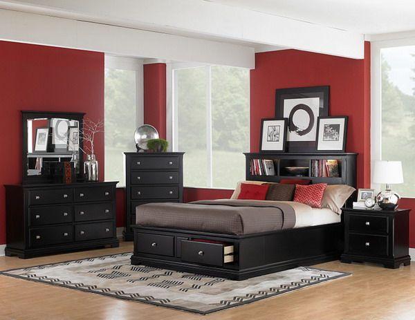 Black Bedroom Furniture Set Modern Design with Black Bedroom Furniture