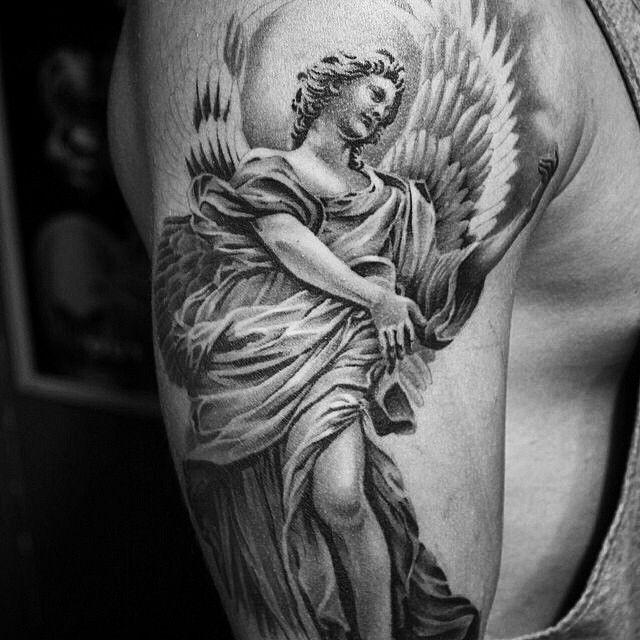 Amazing #tattoo #art by @ryan_evans ️ #tats #ink #inkart #inked #arte #blackandwhite #ingravidos I