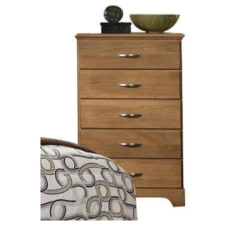 Carolina Furniture Works, Inc. Sterling 5 Drawer Chest