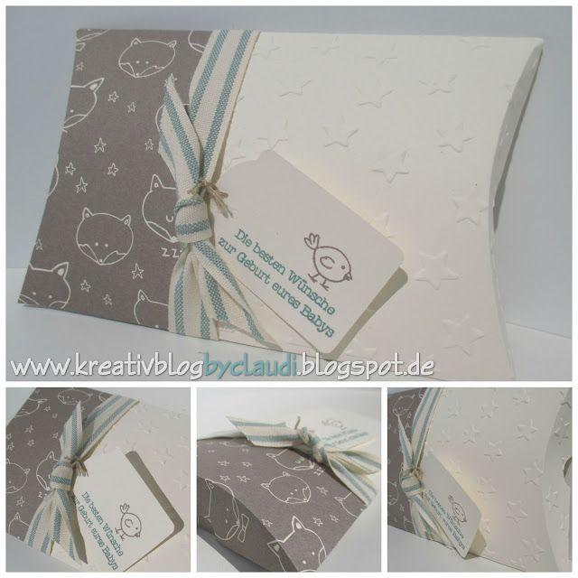 Pillowbox für's Baby