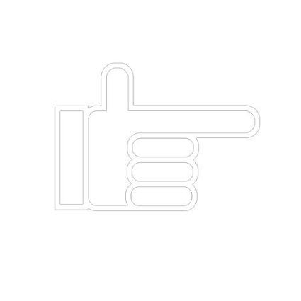 Amazon.co.jp   ピクトグラム 矢印 D ステッカーデカール (赤色)   おもちゃ 通販