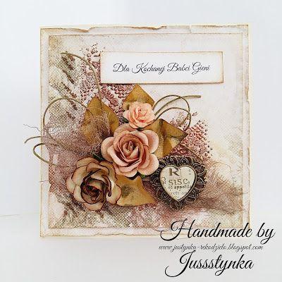 Handmade by Jussstynka: W brązach