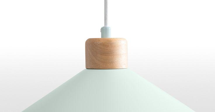 Albert Deckenleuchte, Zartblau ► Moderne Design-Leuchten in vielen Styles! Entdecke jetzt die neuesten Lampentrends bei MADE.
