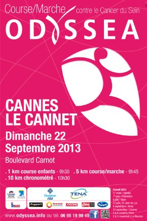 Course Odyssea -Affiche - © Ville de Cannes 2013