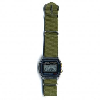 Montre Casio A158W Bracelet Vintage Kaki - Casio