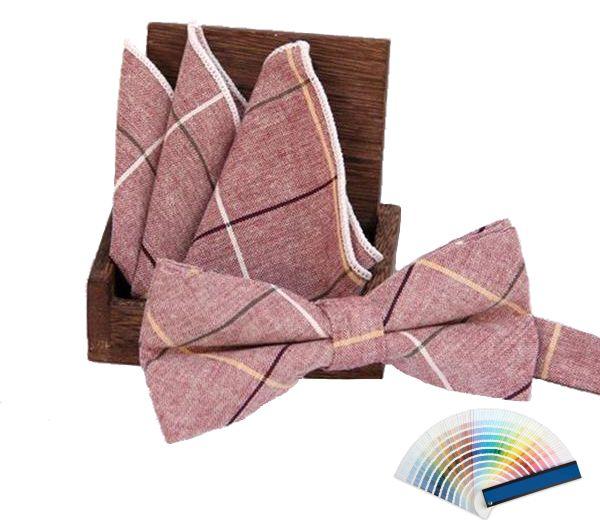 Modern Bow Ties & Pocket Squares