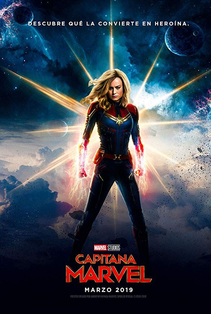 Captain Marvel Marvel Capitana Marvel Magníficos