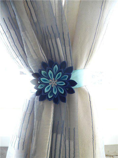 Mejores 20 im genes de sujetadores de cortinas en - Lazos para cortinas ...