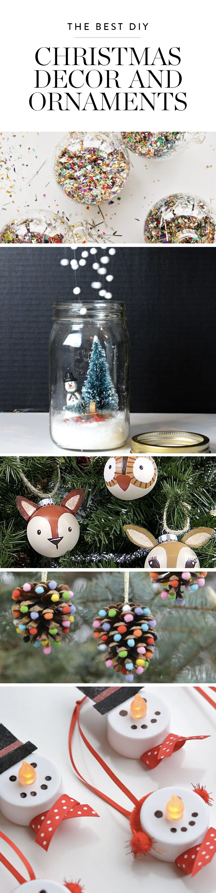 Pretty Christmas Decor and Ornaments You Can Make Yourself  Grandparents, De...