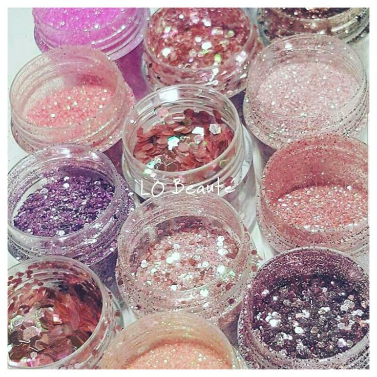 Glitters sparkles pink