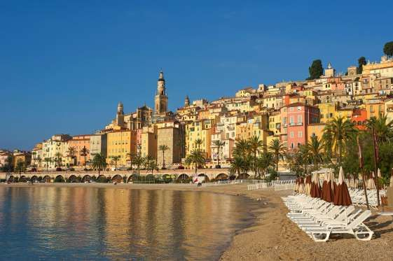Menton, French Riviera, France