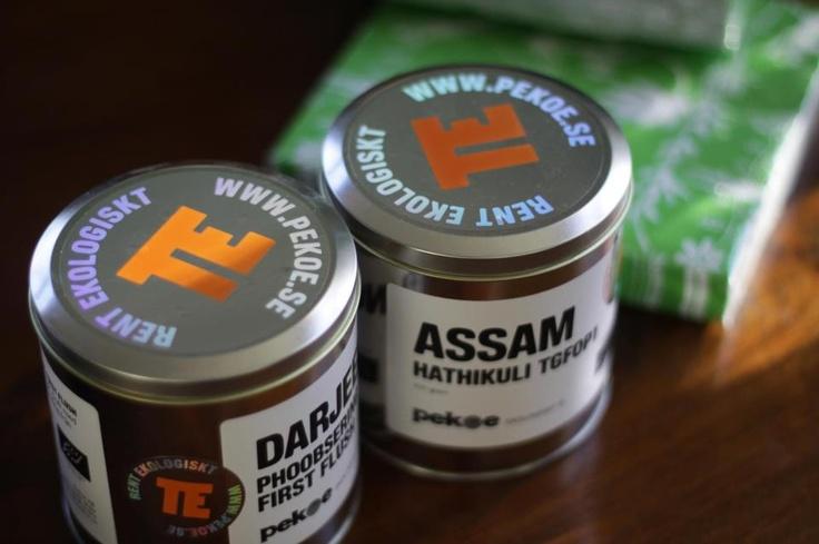 New tea packaging from Pekoe.