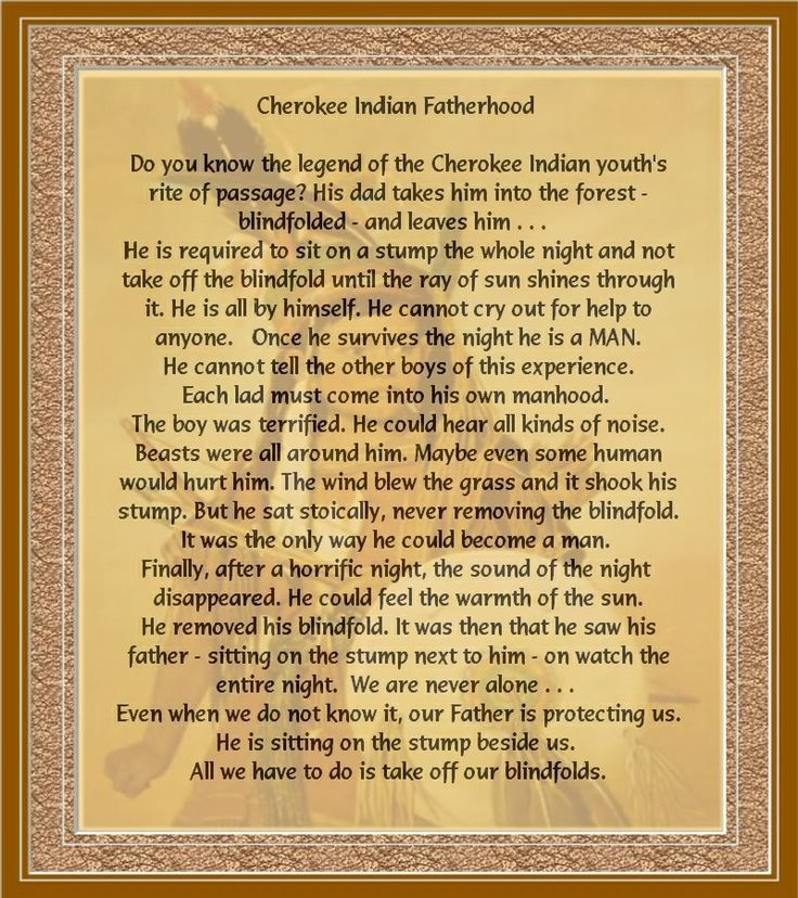 cherokee indian pictures and quotes | Cherokee Indian Fatherhood Image | Cherokee Indian Fatherhood Picture ...