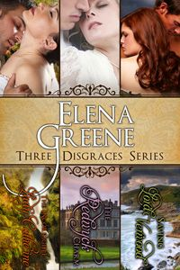 THE THREE DISGRACES (Series) ~ A rebel, an heiress, and a wallflower find love where they least expect it... This trilogy by award winning author Elena Greene includes the following reissued, full length Regency romances: The Incorrigible Lady Catherine, The Redwyck Charm and Saving Lord Verwood.